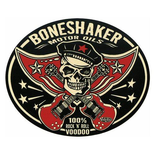 Aufkleber Boneshaker Oil, Vince Ray