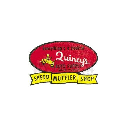 Aufkleber Quincy's Speed Shop