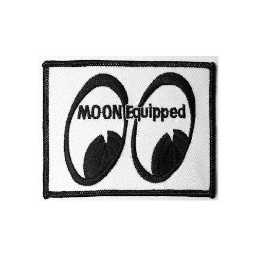 MOON Patch/Aufnäher, Moon Equipped