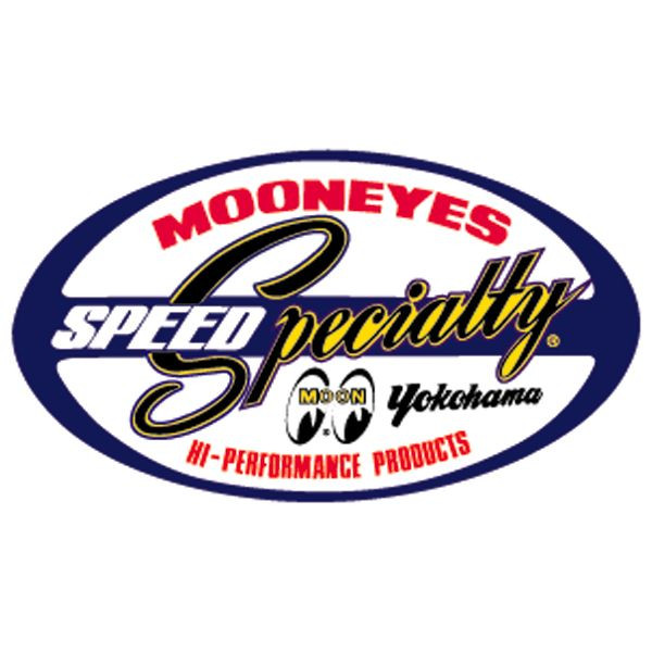 Mooneyes Speed Specialities Yokohama Aufkleber