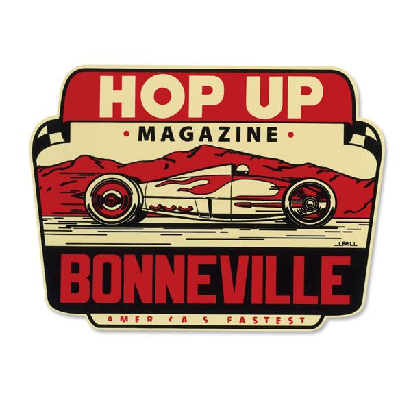 """Mooneyes Aufkleber """"Hop Up Magazine"""""""