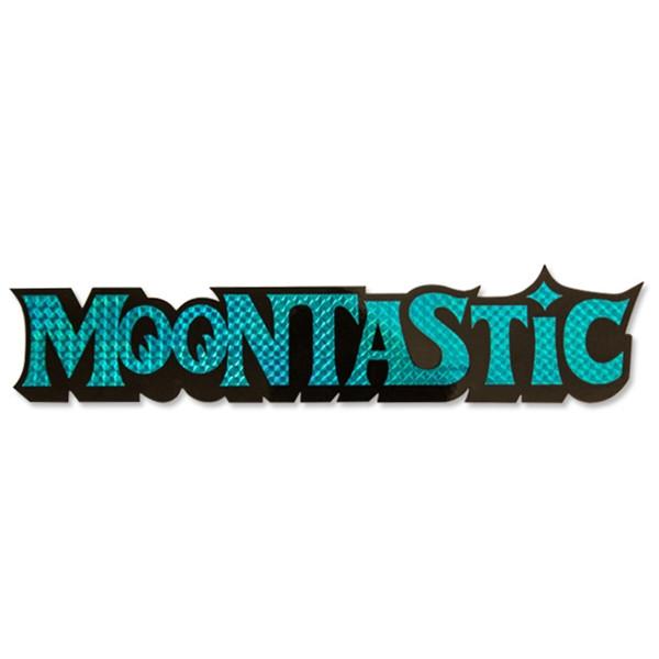 "Mooneyes Prismen-Aufkleber ""Moontastic"""