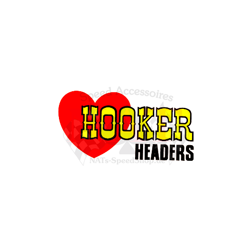 Aufkleber Hooker Headers