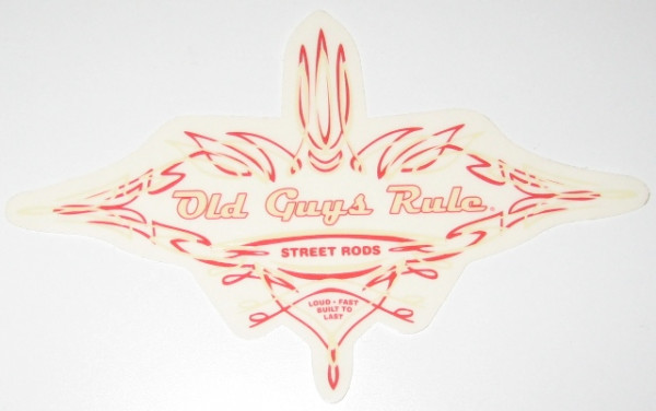 Aufkleber OGR Pinstrip Street Rod