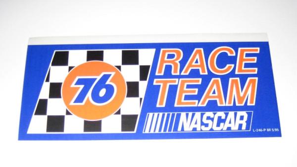 Aufkleber 76 NASCAR Race Team