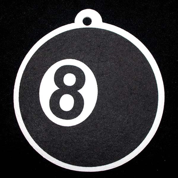"""Lufterfrischer """"8""""-Ball, 3 versch. Duftnoten,"""