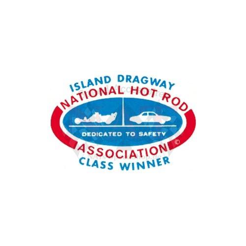 Aufkleber Island Dragway NHRA