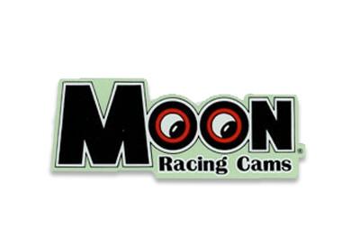 MOON Aufkleber Racing Cams