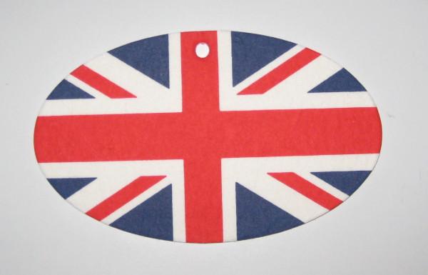 Lufterfrischer Union Jack, 3 versch. Duftnoten,
