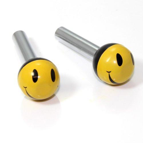 Türknopf Set, 2 Stk, Smiley