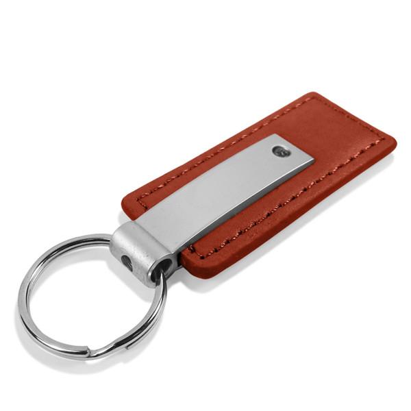 Schlüsselanhänger Lexus, Leder, braun
