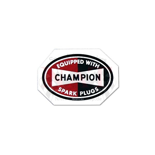 Aufkleber Champion ( Clear Sheet )
