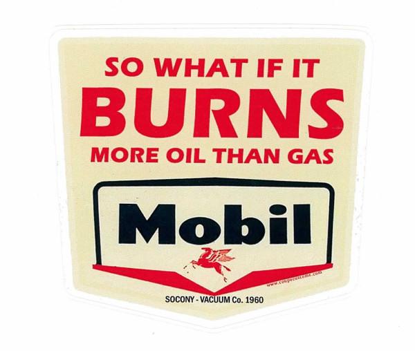 Aufkleber Burn Oil