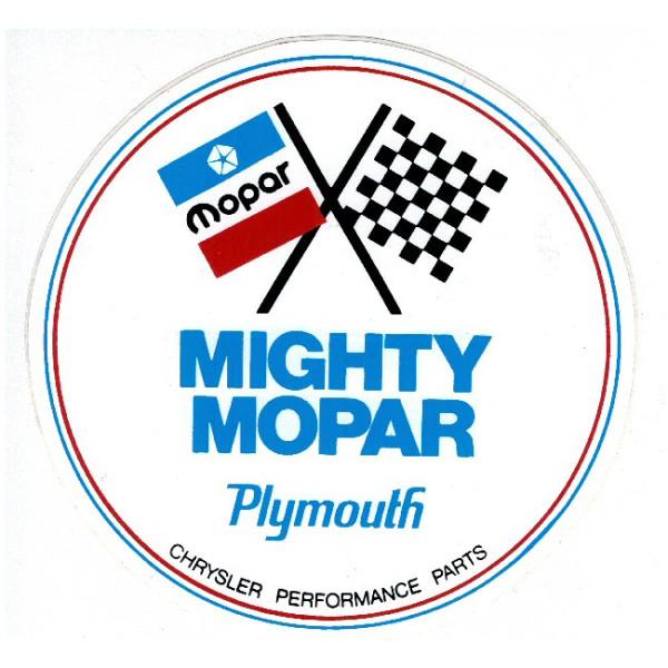 Aufkleber Mighty Mopar