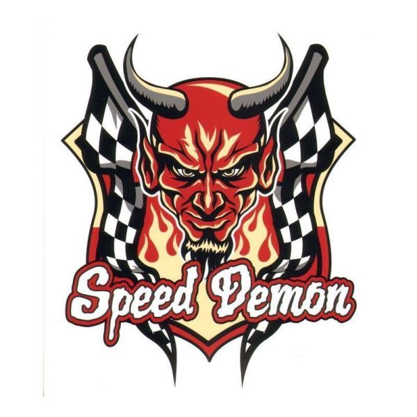 Aufkleber Speed Demon