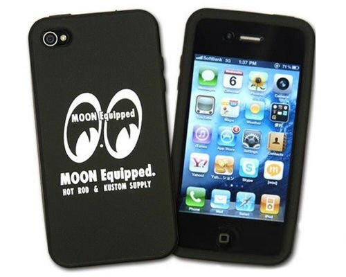MOON Equipped iPhone 4 Cover, schw/weiß