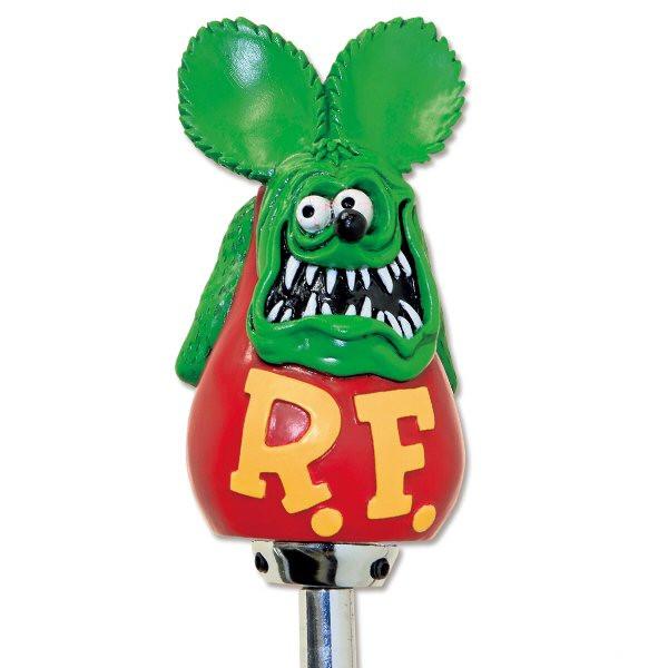 Rat Fink Schaltknauf, grün