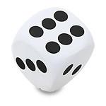 "Antennenball ""White Dice"""
