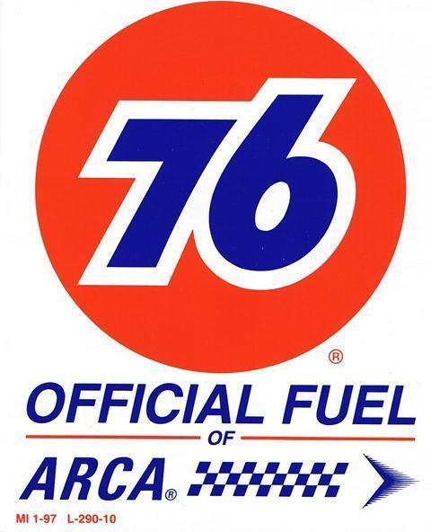 Aufkleber 76 Official Arca Fuel