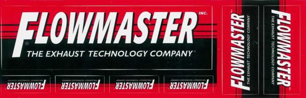 Aufkleber Set Flowmaster