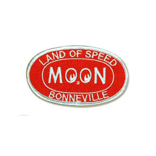 MOON Patch/Aufnäher, Bonneville, rot