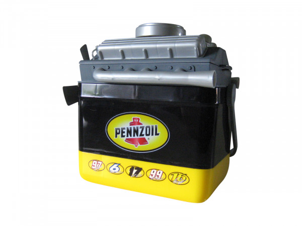 Pennzoil Six-Pack Kühlbox
