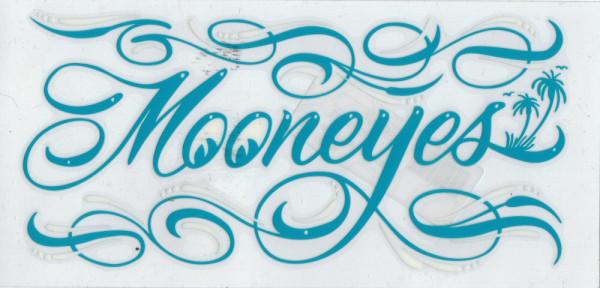 MOON Pinstripe Sticker, green