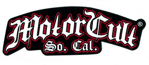 Aufkleber MotorCult, Logo