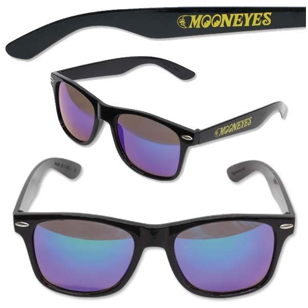 Mooneyes Sonnenbrille, verspiegelt