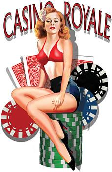 Aufkleber Casino Royale
