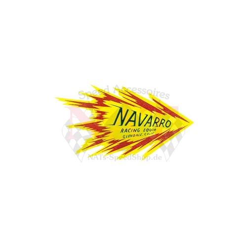 Aufkleber Navarro Racing Equip.