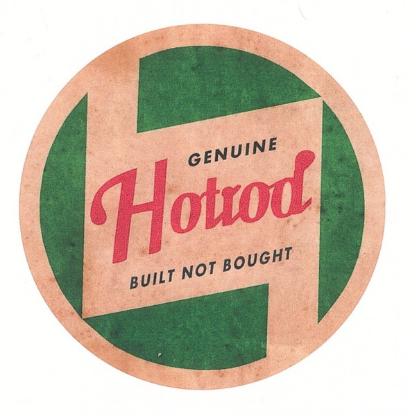 Aufkleber Genuine Hotrod