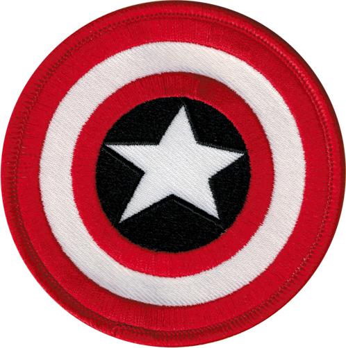 Aufnäher/Patch Captain America Schild Logo