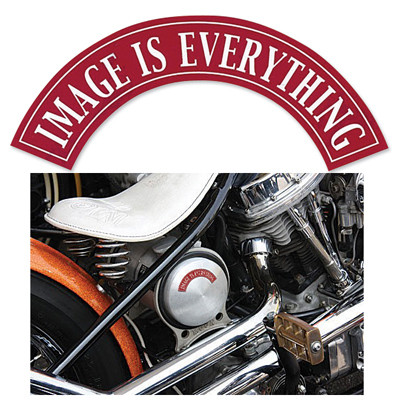 Image Is Everything Sticker