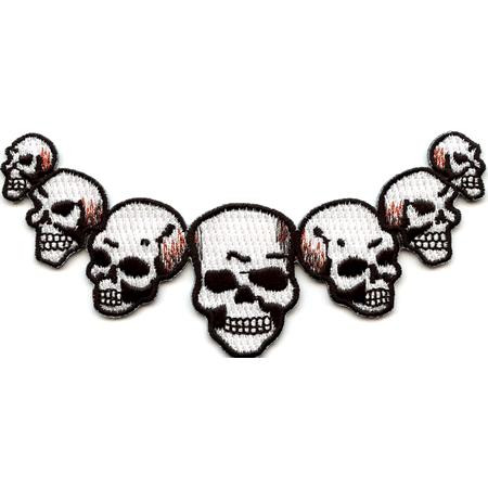 Aufnäher/Patch Seven Skulls