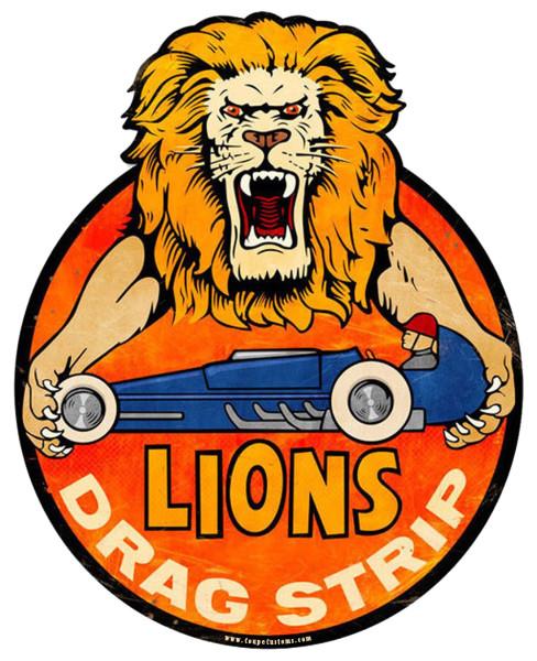 Aufkleber Lions Drag Strip