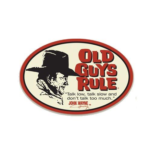 Aufkleber OGR John Wayne, Talk Low Decal