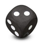 "Antennenball ""Black Dice"""