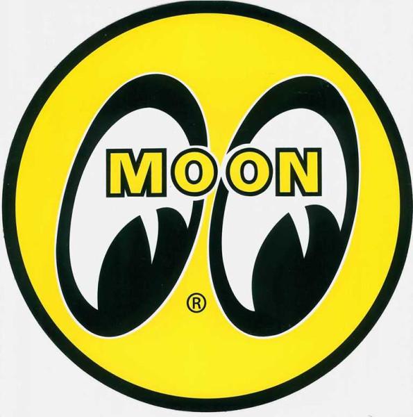 Mooneyes Aufkleber, Hotrod Kult Custom Oldschool 455 mm