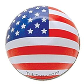 Ventilkappen Set, 2 Stk., US-Flagge