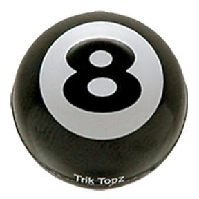 Ventilkappen Set, 2 Stk, Eight Ball/8 Ball