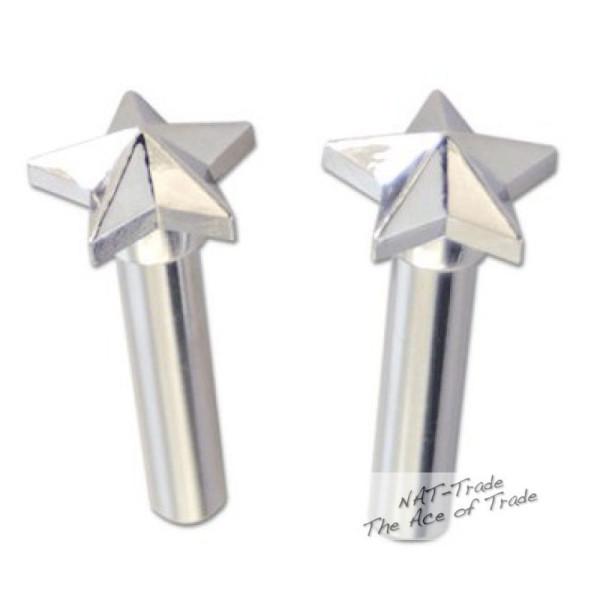 Mooneyes Türknöpfe Pin Stern, Hotrod Kult Custom